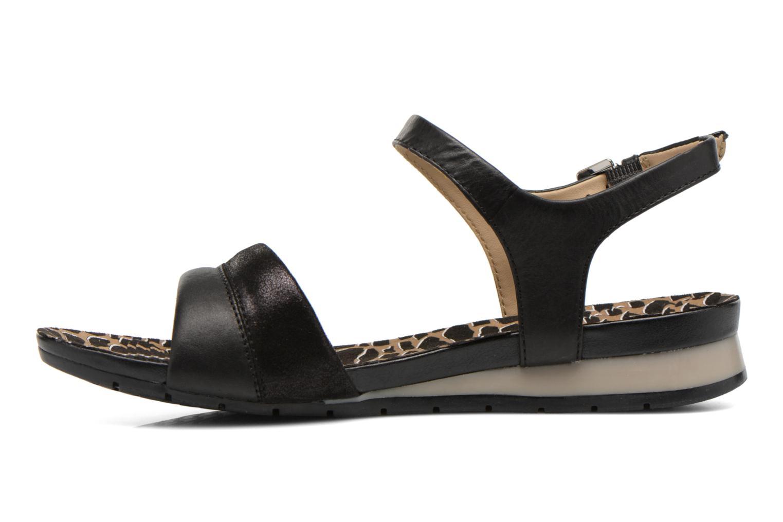 Sandales et nu-pieds Geox D FORMOSA C D6293C Noir vue face