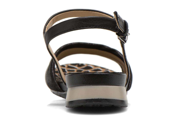 Sandales et nu-pieds Geox D FORMOSA C D6293C Noir vue droite