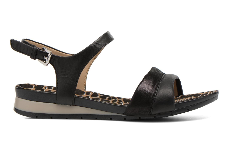 Sandales et nu-pieds Geox D FORMOSA C D6293C Noir vue derrière