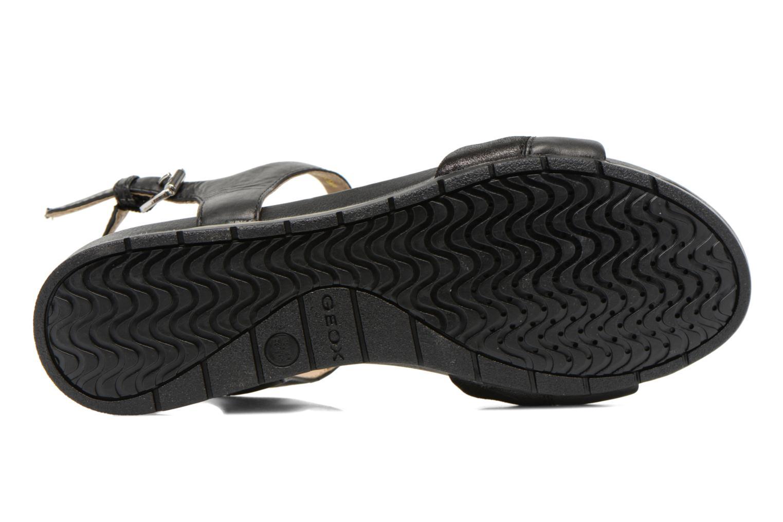 Sandales et nu-pieds Geox D FORMOSA C D6293C Noir vue haut