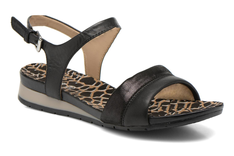 Sandales et nu-pieds Geox D FORMOSA C D6293C Noir vue détail/paire