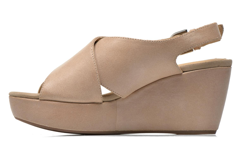 Sandali e scarpe aperte Geox D THELMA B D62N9B Beige immagine frontale