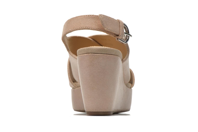 Sandali e scarpe aperte Geox D THELMA B D62N9B Beige immagine destra