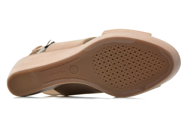 Sandali e scarpe aperte Geox D THELMA B D62N9B Beige immagine dall'alto