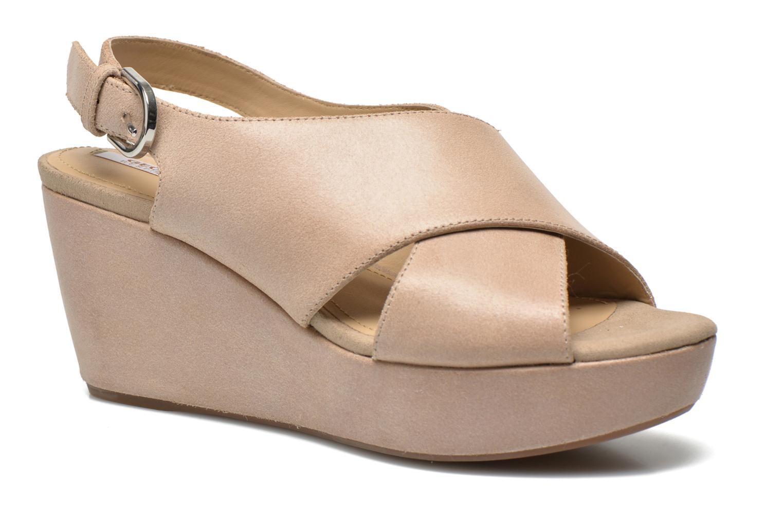 Sandali e scarpe aperte Geox D THELMA B D62N9B Beige vedi dettaglio/paio