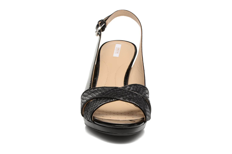 Sandales et nu-pieds Geox D LANA B D62Q6B Noir vue portées chaussures
