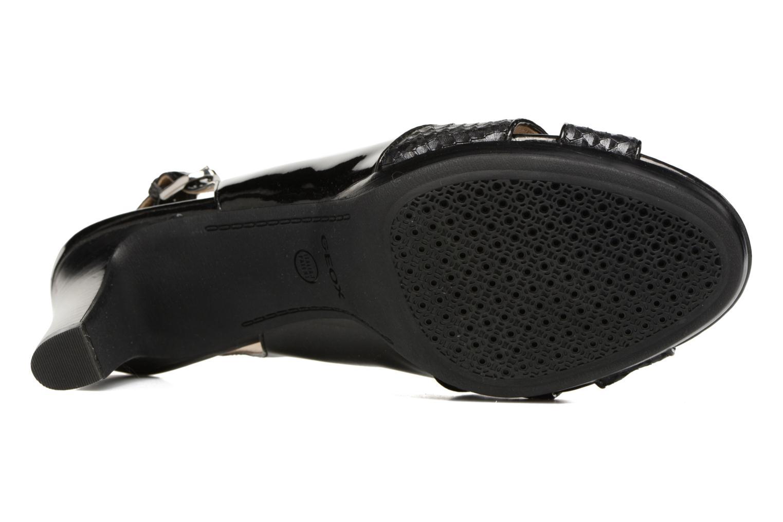 Sandales et nu-pieds Geox D LANA B D62Q6B Noir vue haut
