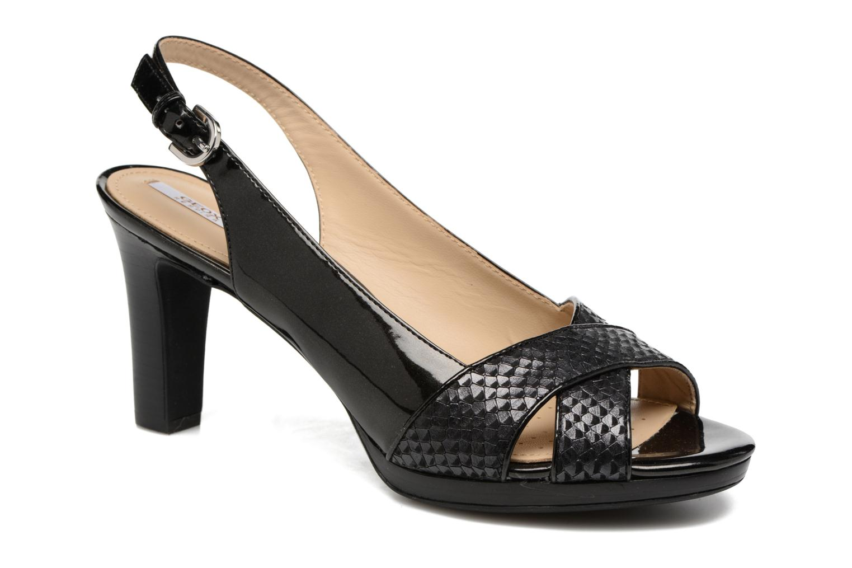 Sandales et nu-pieds Geox D LANA B D62Q6B Noir vue détail/paire