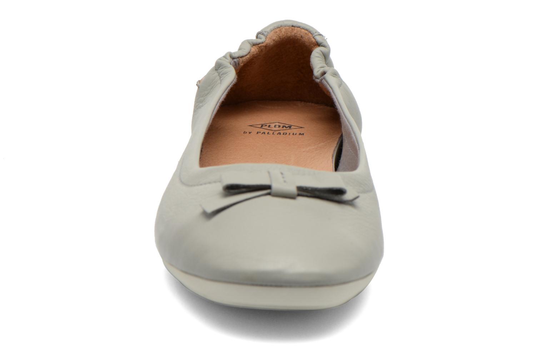 Ballerines P-L-D-M By Palladium Lovell Cash Gris vue portées chaussures