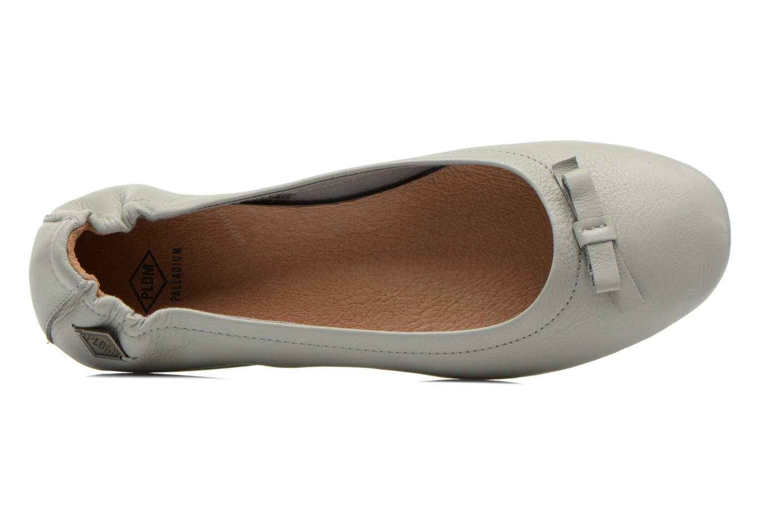 Ballerines P-L-D-M By Palladium Lovell Cash Gris vue gauche