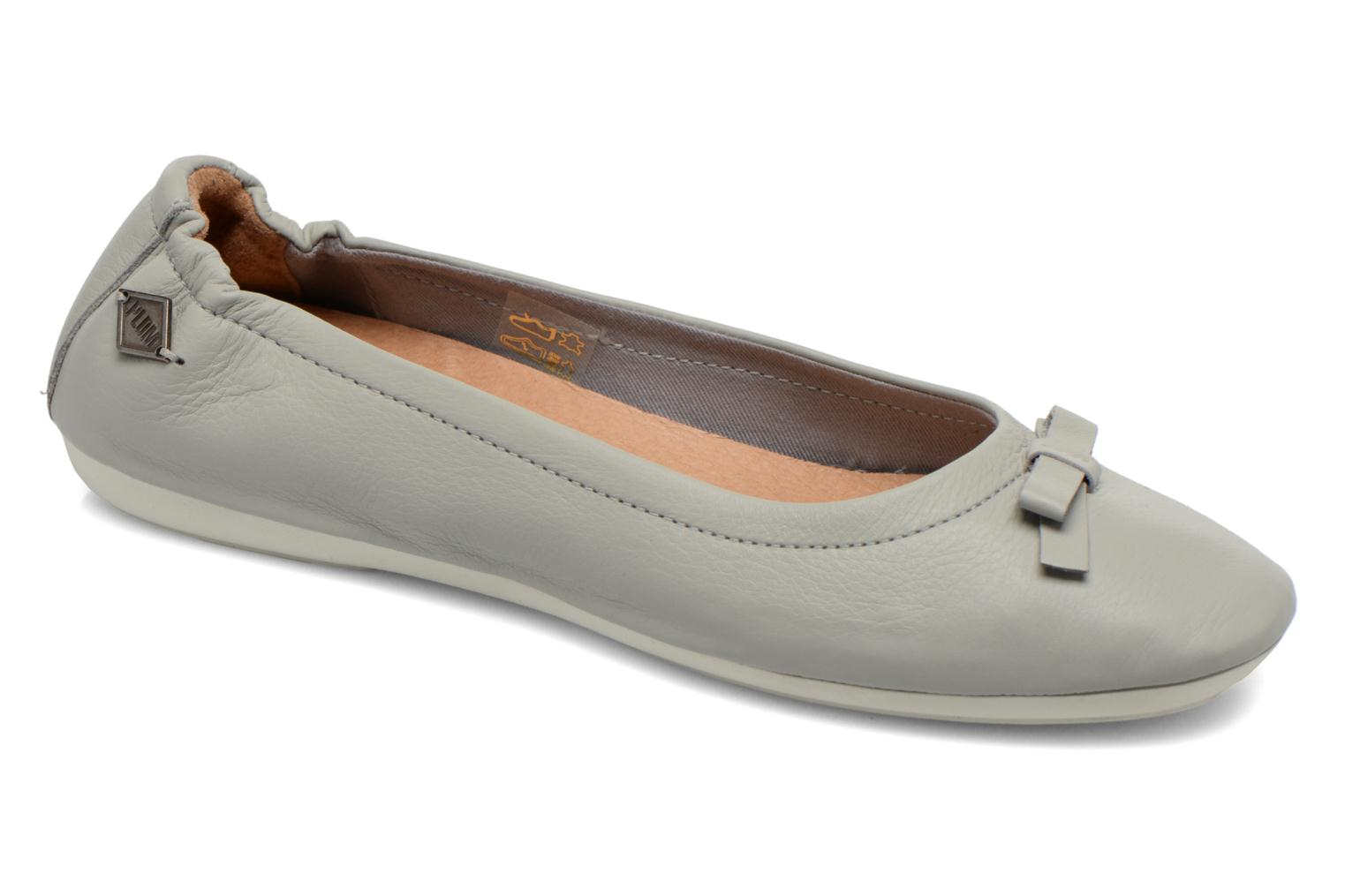 Ballerines P-L-D-M By Palladium Lovell Cash Gris vue détail/paire
