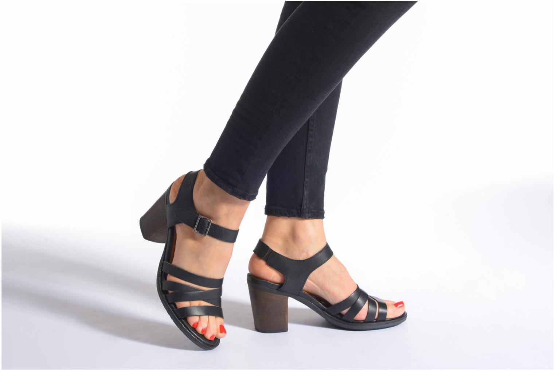 Sandales et nu-pieds P-L-D-M By Palladium Gaya Frl Noir vue bas / vue portée sac