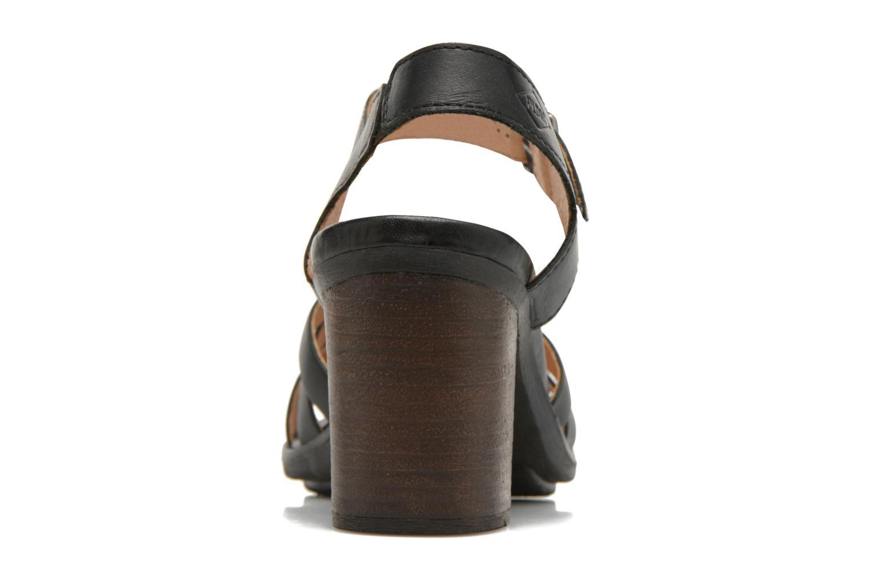 Sandales et nu-pieds P-L-D-M By Palladium Gaya Frl Noir vue droite