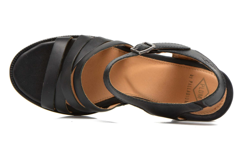 Sandales et nu-pieds P-L-D-M By Palladium Gaya Frl Noir vue gauche