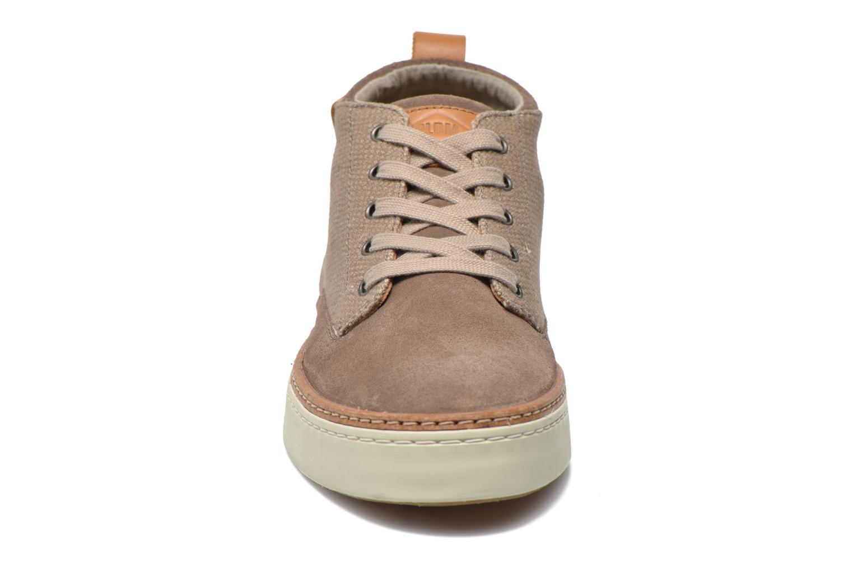 Chaussures à lacets P-L-D-M By Palladium Fastness Mix Gris vue portées chaussures