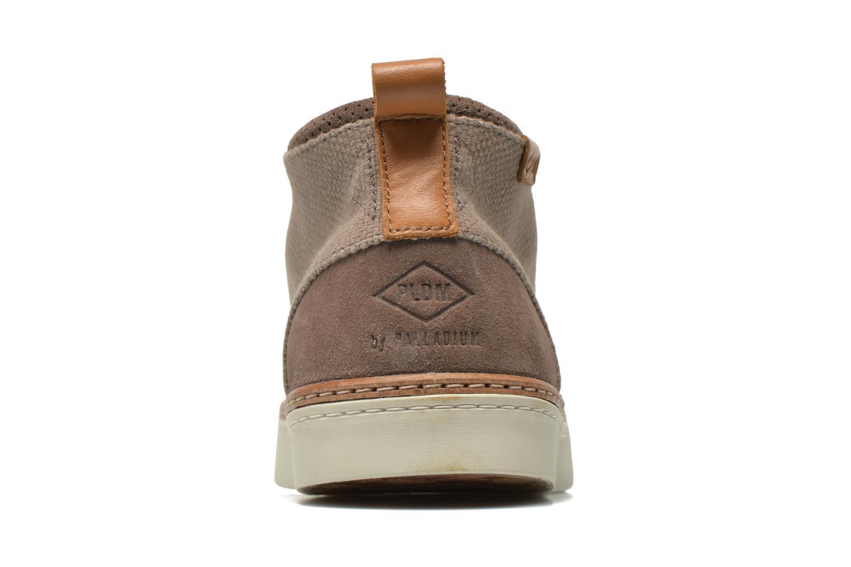 Chaussures à lacets P-L-D-M By Palladium Fastness Mix Gris vue droite