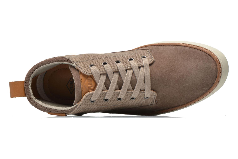 Chaussures à lacets P-L-D-M By Palladium Fastness Mix Gris vue gauche