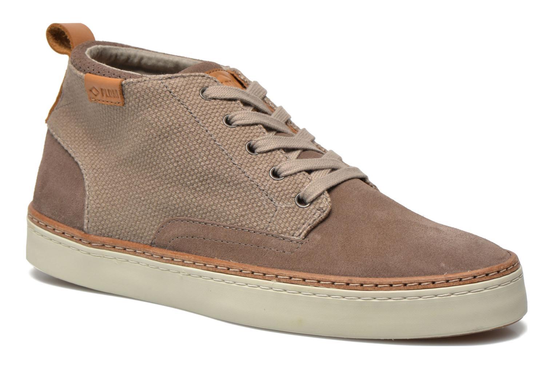 Chaussures à lacets P-L-D-M By Palladium Fastness Mix Gris vue détail/paire