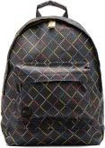 Mochilas Bolsos Gold crisscross Backpack