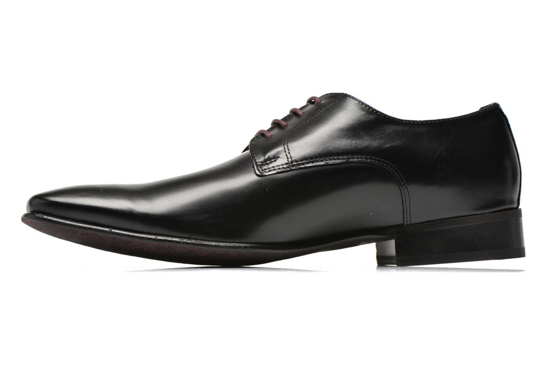 Chaussures à lacets Le Formier Greenfield Noir vue face