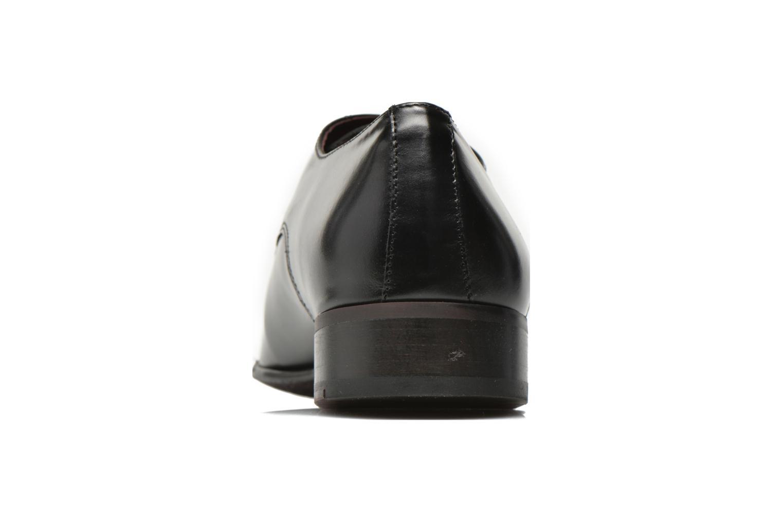 Chaussures à lacets Le Formier Greenfield Noir vue droite