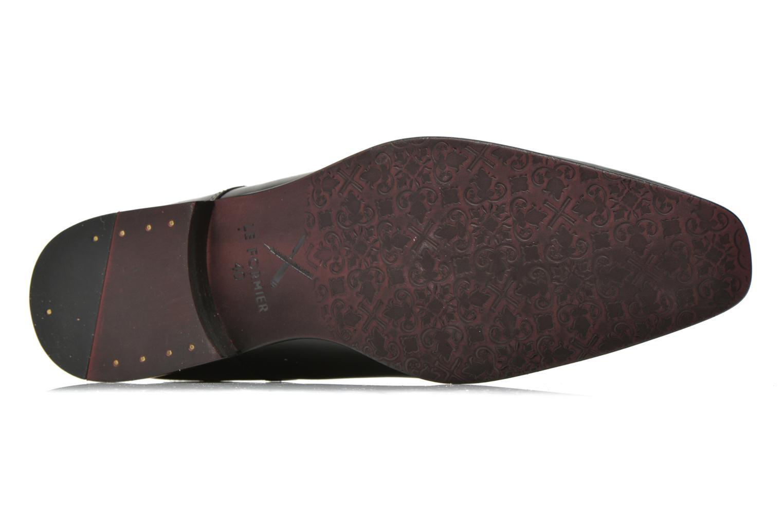 Chaussures à lacets Le Formier Greenfield Noir vue haut