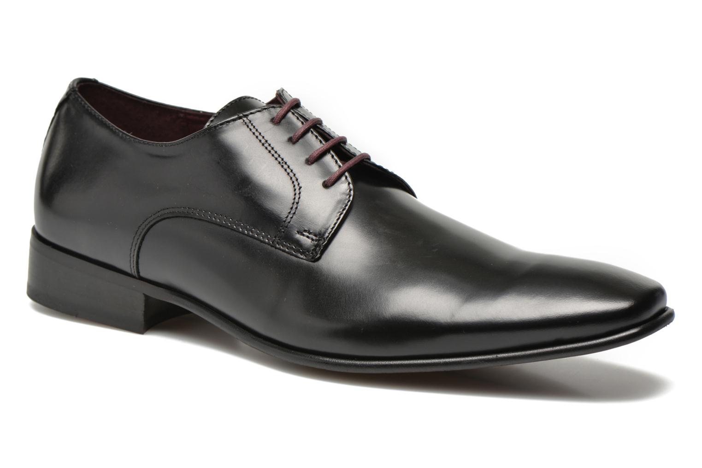 Chaussures à lacets Le Formier Greenfield Noir vue détail/paire