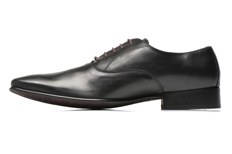 Chaussures à lacets Le Formier Fiennes Noir vue face