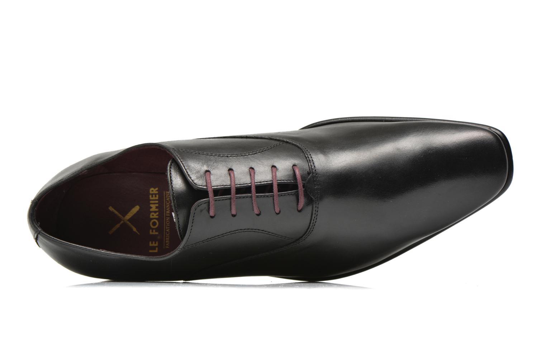 Chaussures à lacets Le Formier Fiennes Noir vue gauche