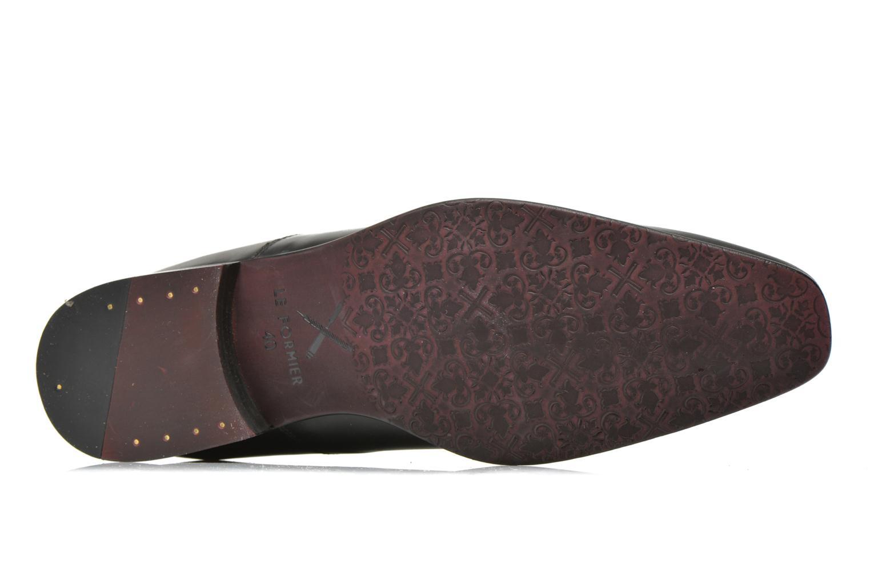 Chaussures à lacets Le Formier Fiennes Noir vue haut