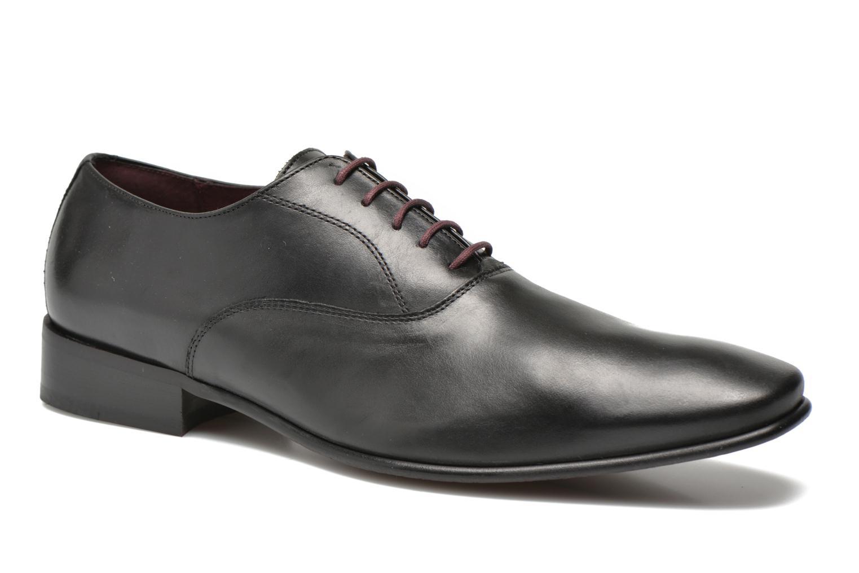 Chaussures à lacets Le Formier Fiennes Noir vue détail/paire