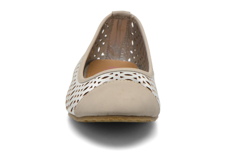 Ballerines Refresh Alba 61829 Argent vue portées chaussures
