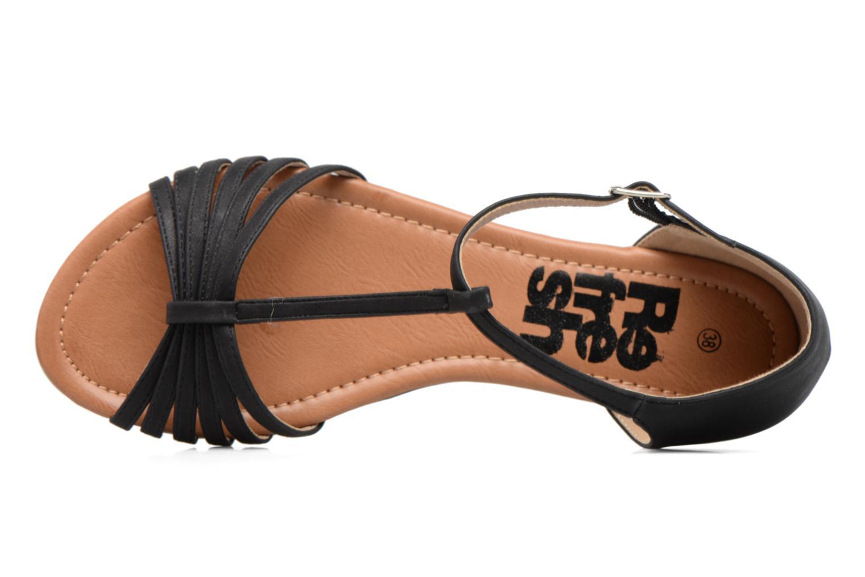 Sandales et nu-pieds Refresh Casey 61767 Noir vue gauche