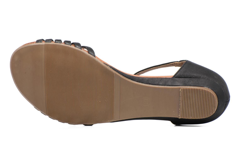 Sandales et nu-pieds Refresh Casey 61767 Noir vue haut