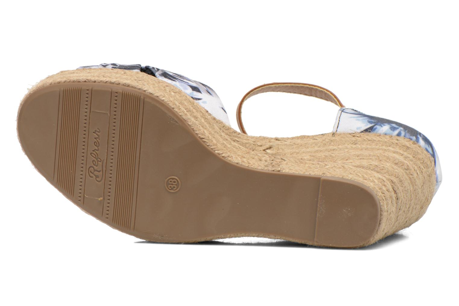 Sandals Refresh Goyave 61719 Multicolor view from above