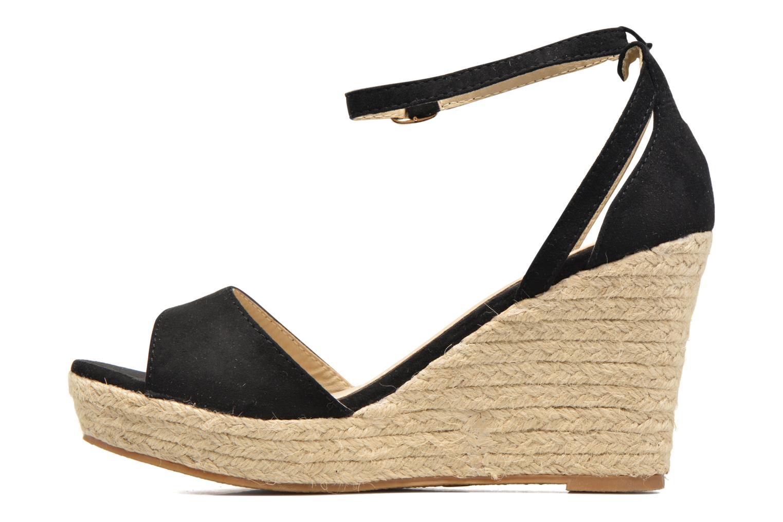 Sandales et nu-pieds Refresh Sunlight 62011 Noir vue face