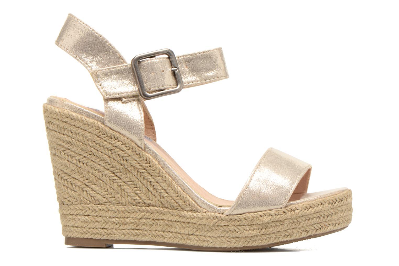 Sandales et nu-pieds Refresh Corail 61772 Or et bronze vue derrière