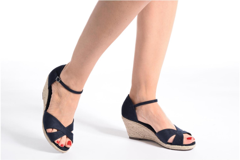 Sandales et nu-pieds Refresh Patelle 62091 Bleu vue bas / vue portée sac