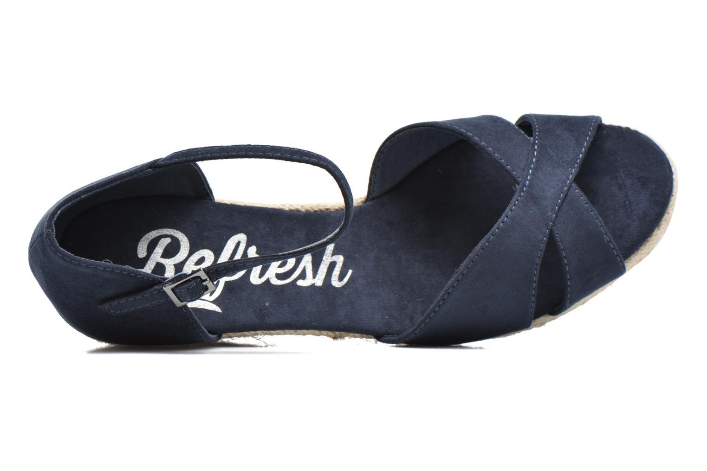 Sandales et nu-pieds Refresh Patelle 62091 Bleu vue gauche