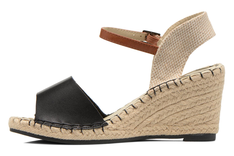 Sandales et nu-pieds Refresh Gipset 62035 Noir vue face