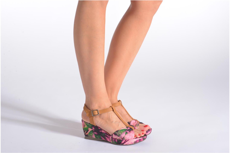 Sandales et nu-pieds Refresh Blue Moon 62085 Multicolore vue bas / vue portée sac