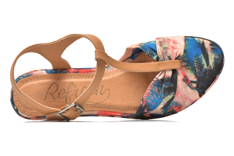 Sandales et nu-pieds Refresh Blue Moon 62085 Multicolore vue gauche