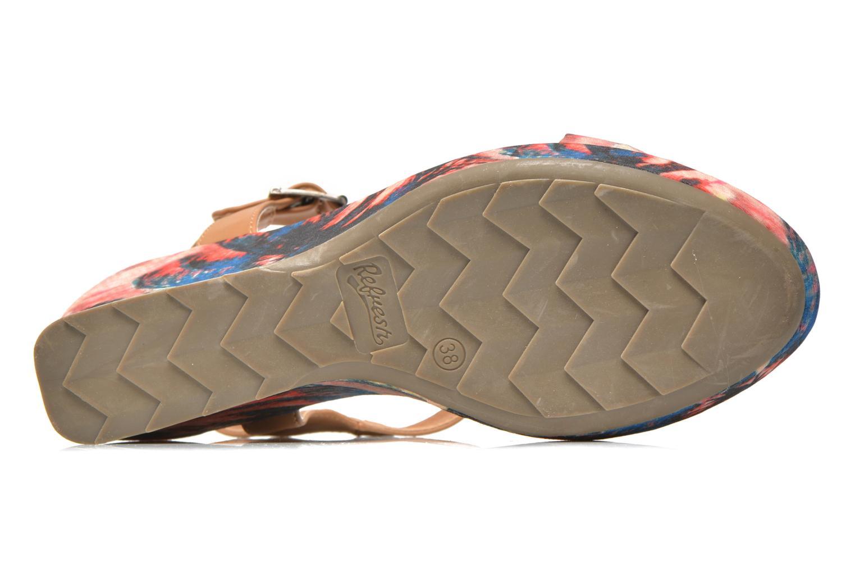 Sandales et nu-pieds Refresh Blue Moon 62085 Multicolore vue haut