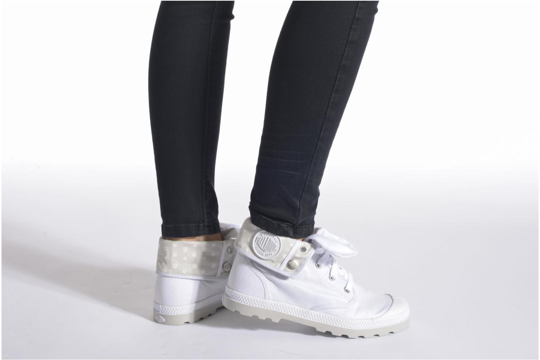 Sneakers Palladium Baggy Low Lp MTL P Bianco immagine dal basso