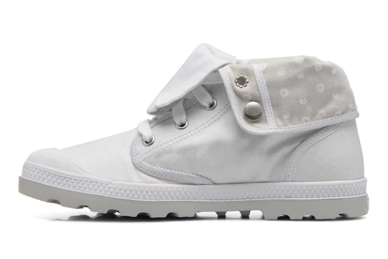 Sneakers Palladium Baggy Low Lp MTL P Bianco immagine frontale