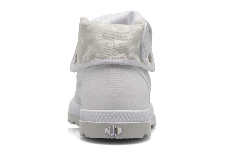 Sneakers Palladium Baggy Low Lp MTL P Bianco immagine destra
