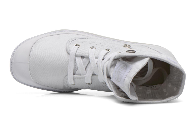 Sneakers Palladium Baggy Low Lp MTL P Bianco immagine sinistra