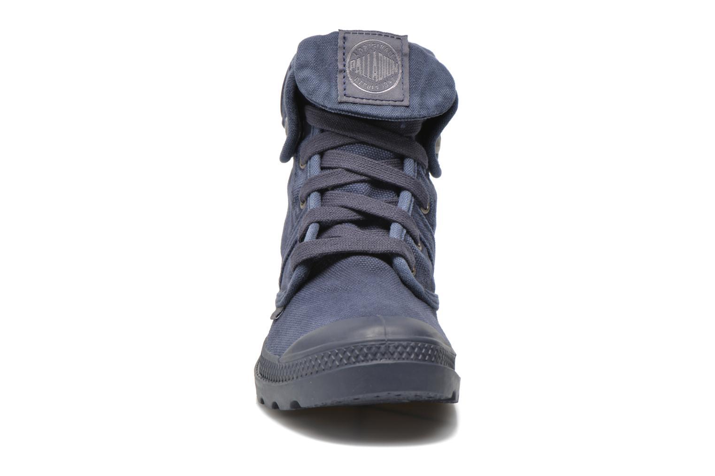 Baskets Palladium Baggy Bleu vue portées chaussures