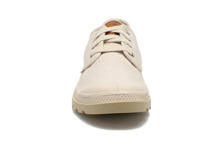 Baskets Palladium Pampa Oxford LC Beige vue portées chaussures