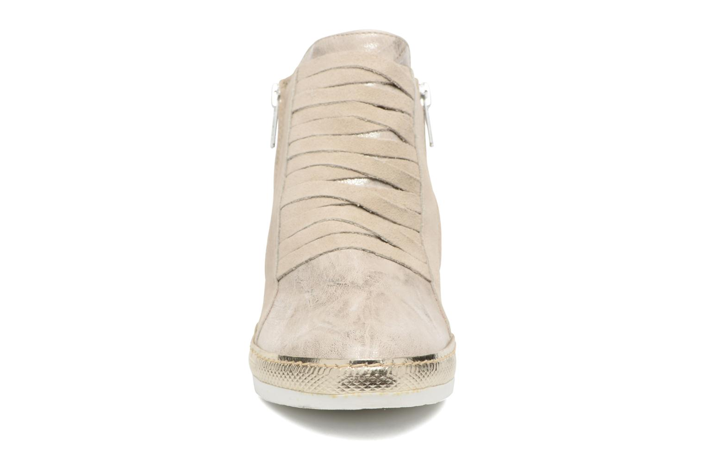 Baskets Khrio Fucio Gris vue portées chaussures